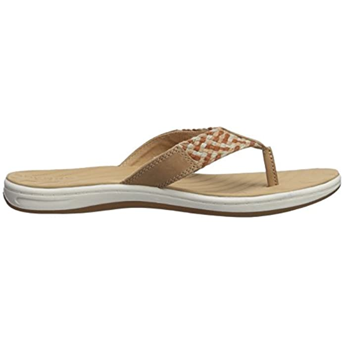 Sperry Women's Seabrook Swell Flat Sandal Tan 7 5 Medium Us