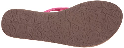 Women's Pink Flip Volcom Electric Flop Sandal Fun Have g0ndqxaz