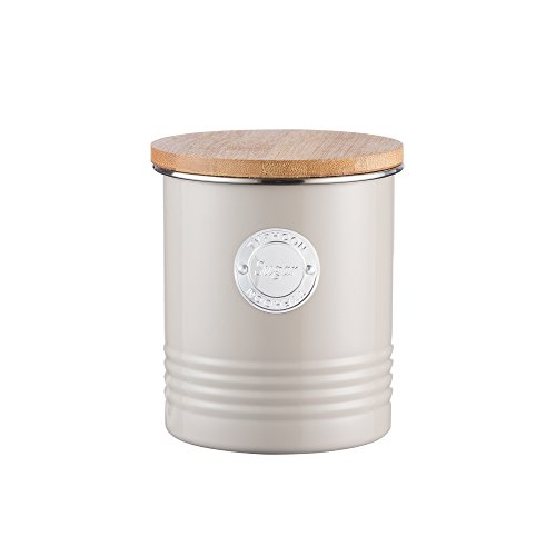 Typhoon Living Sugar Canister 1l, Putty by Typhoon