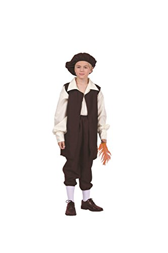The Renaissance Boy Vest Costume -