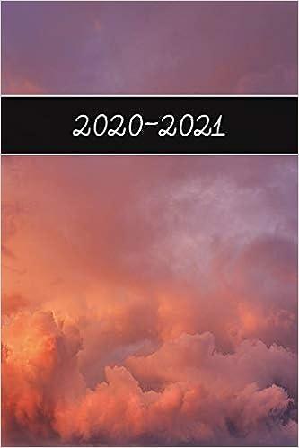 2020 - 2021: 2 Year Weekly Planner 2020 - 2021 - Clouds Sky ...