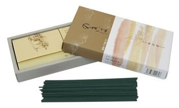 Moss Garden (Nokiba) With Sandalwood - Shoyeido Classic Japanese Incense - Box of 250 Sticks