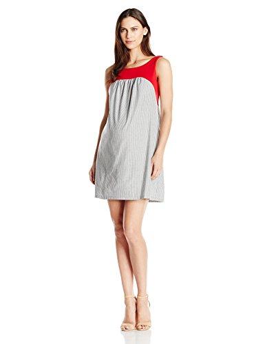 Maternal america red seersucker dress