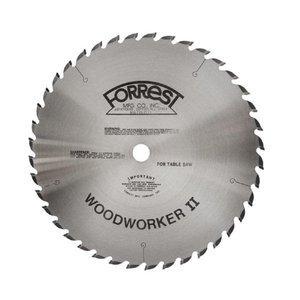 Forrest WW10307125 Woodworker II 10-Inch, 30 Tooth, 5/8-Inch Arbor, 1/8-Inch Kerf Circular Saw Blade
