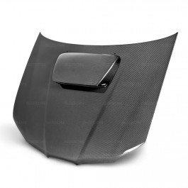 (Seibon Carbon Fiber OEM-Style Hood Subaru WRX STI 06-07)