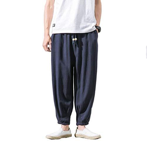 Color Hombres De Chándal Battercake Otoño Con Moda Sólido Primavera Pantalón Pantalones Blau Harén Y Navy Cómodo Los wAWxCfqxSB