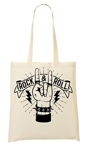 Fourre Provisions Rock Roll Design À Hand amp; tout Sac q7g7wBXxS