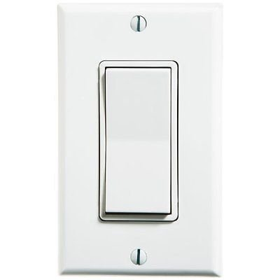 ILLUMINATED INTERNAL LIGHTED DECORA WALL TOGGLE SWITCH 15A 120V