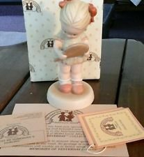 "Memories of Yesterday ""I Must Be Somebody's Darling"" 1990 Enesco Porcelain Figurine"