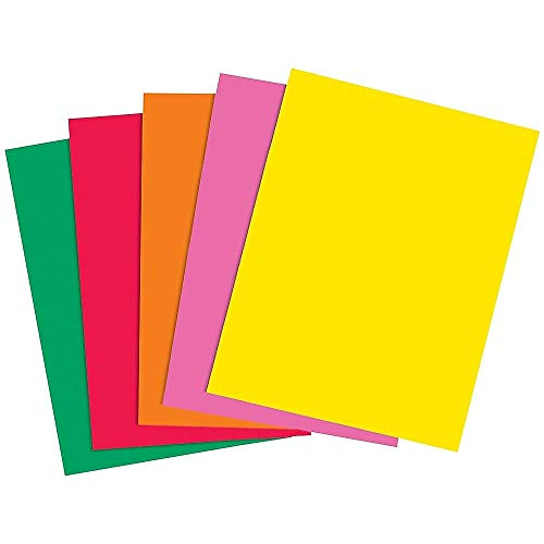(Staples 733088 Brights 24 Lb. Colored Paper Assorted Colors)