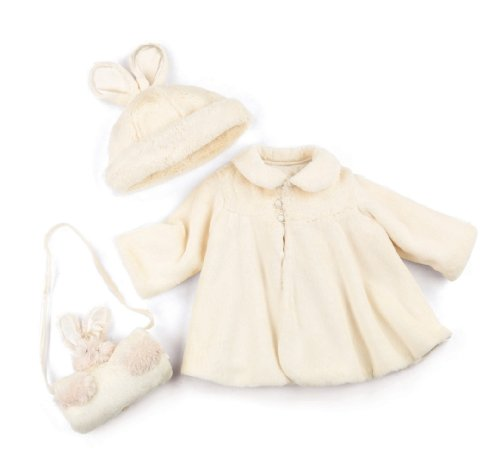 Bunnies By The Bay Storywear Easter Coat Set for Baby Girls