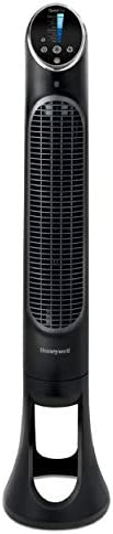 Honeywell HYF290B Quietset 8-Speed Whole-Room Tower Fan With Remote Control & Oscillating Mo