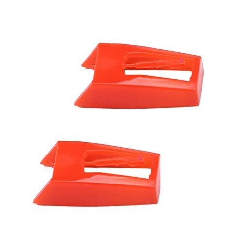 Gartopvoiz - Juego de 2 agujas de repuesto para reproductor de discos (lápiz capacitivo para fotografía NP1 y NP6)