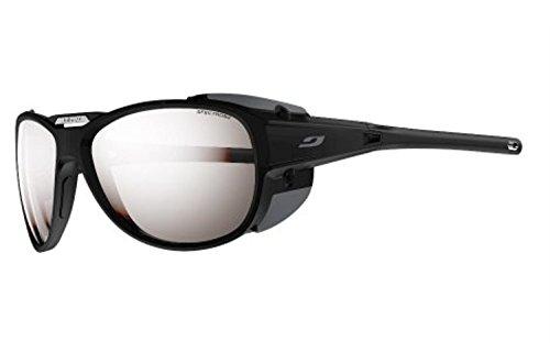 Julbo Explorer 2.0 Sunglasses Matte Black/Gray/Spectron 4 Silver Flash & Towel