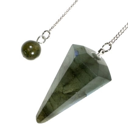 Labradorite Crystal Pendulum, used for sale  Delivered anywhere in Canada