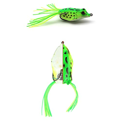 Ferrell Frog Lure Soft Lures Artificial Fishing Bait Topwater Wobbler Bait for Pike Snakehead Article Gear