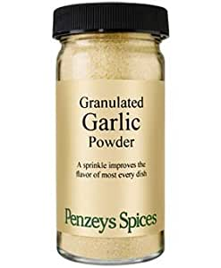 Granulated Garlic Powder By Penzeys Spices 2.9 oz 1/2 cup jar