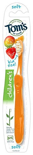 TOMS OF MAINE Kid s Soft Toothbrush, 1 EA