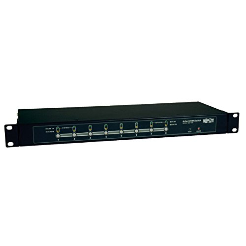 Tripp Lite B007-008 8-Port 1U Rackmount KVM Switch with On-Screen Display - Olson Stack