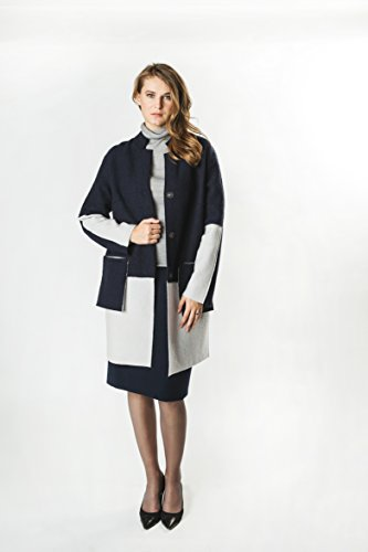 Women Casual Elegant Felted 2-Colour Coat