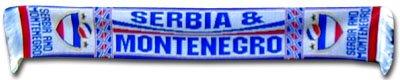 Serbia /& Montenegro Scarf