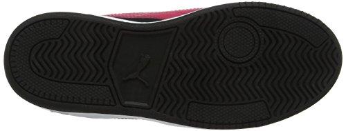 Puma Unisex-Kinder Rebound Street V2 fur V PS Sneaker Schwarz (Black-Love Potion)