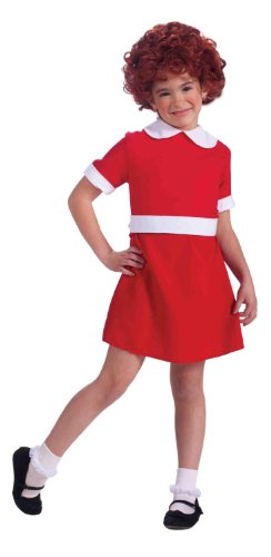 Cute Little Kid Halloween Costumes (Forum Novelties Little Orphan Annie Child Costume, Small)