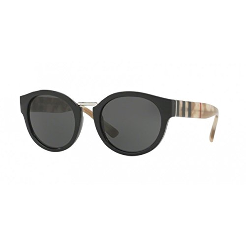 Burberry BE4227 360087 Black / Tortoise BE4227 Round Sunglasses Lens Category - Burberry Sunglasses Round