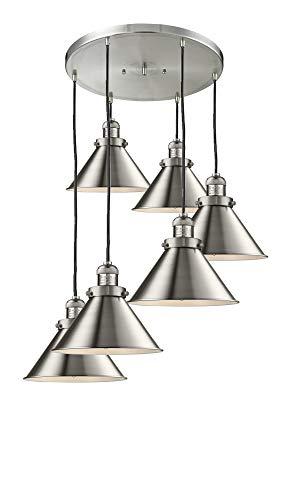 Briarcliff Pendant Lighting - Innovations Lighting 212/6-SN-M10 Six Light Pendant