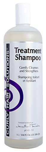 - CURLY HAIR SOLUTION - Treatment Shampoo (33.8 Ounce / 1000 Milliliter)
