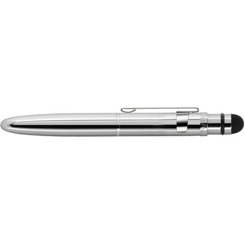 - Fisher Space Pen Bullet Grip Space Pen with Clip and Conductive Stylus, Chrome (BGCCL/S)