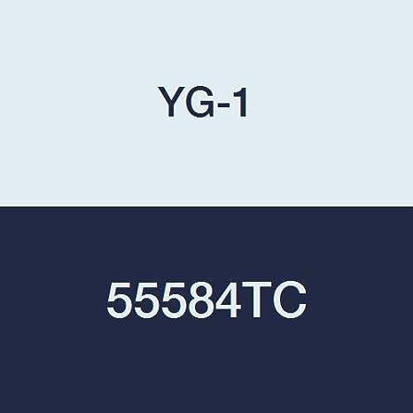 4 Length TiCN Finish 4 Flute 3//8 Extra Long Length YG-1 55584TC Carbide End Mill