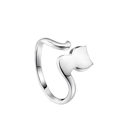 sterling silver rings cat ring gifts for