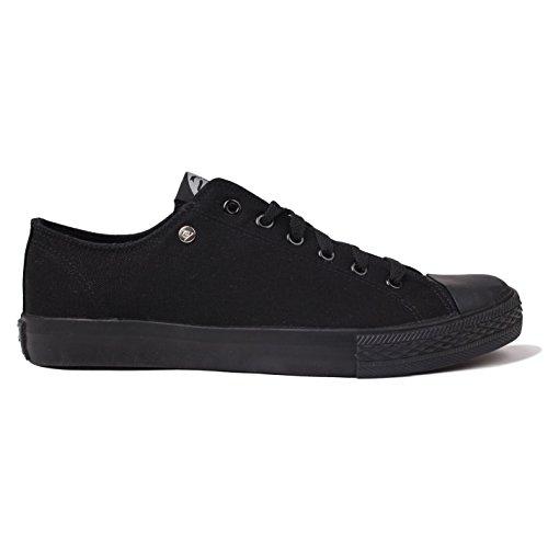 Dunlop - Pantofole Uomo Nero (nero/nero)