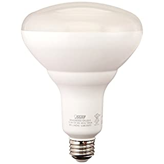 "FEIT Electric BR40DM/850/10KLED/2 Dimmable Led Bulb, 65 W, 120 Vac, 850 Lumens, 5000 K, CRI >80, 6.3""H x 5""D"