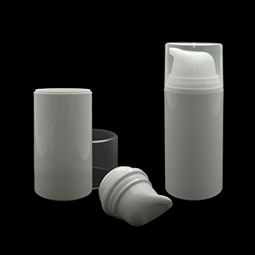 1oz container white plastic - 9