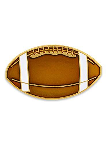 Enamel Football - PinMart Football Sports Enamel Lapel Pin