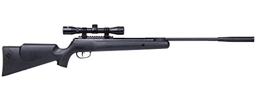 Crosman Nitro Venom Dusk Break Barrel Air Rifle (.22) powered by Nitro Piston (Cal Air Barrel Rifle)
