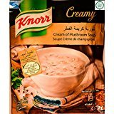 Knorr Soup Mix Cream of Mushroom 6X53Gm/1.86OZ (Knorr Halal Cream of Mushroom, 6X53Gm/1.86OZ) (Soup Mushroom Knorr)