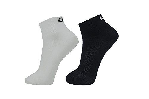 Wholesale LIN 2 Pack Sports Bike Running Spin Class Hiking Gym Training Cool Funny Cycling Socks Black White hot sale
