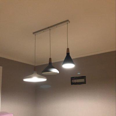 Illuminazione A Binario Per Cucina.Moda Osraed Nordic Lampadario Ristorante Light Bar Posto Letto