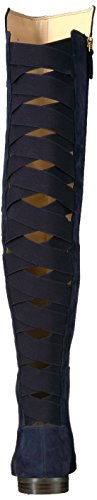 Eltynn Suede Navy Nine West Women's x8Hw8