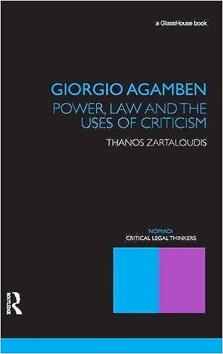 giorgio agamben interview