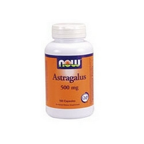 NOW Foods astragale, 100 Capsules 500mg / (Pack de 4)