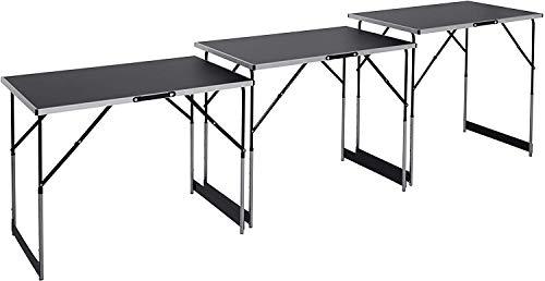 Meister 4357760 Multifunctionele tafel, 3-delig