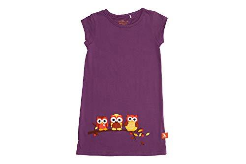 Wild Republic Girls' Toddler Owl Dress, Animal Theme, Kids Playwear, Plumb, 5 ()