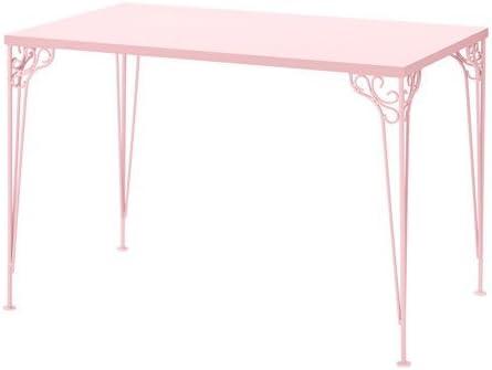 Ikea falkhöjden de Escritorio en Colour Rosa; (110 x 65 cm ...