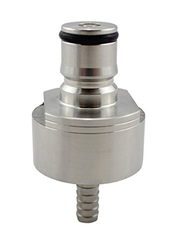 Stainless Steel Carbonation Cap with Barb by The Weekend Brewer (Beer Carbonator compare prices)