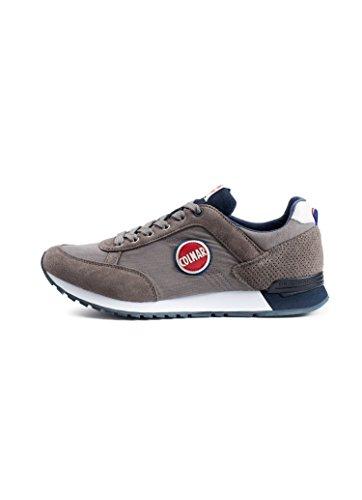 Uomo Colmar 005 Scarpe Suede Gray Mesh Sneakers Dk Colors Navy Travis vqxvwr4