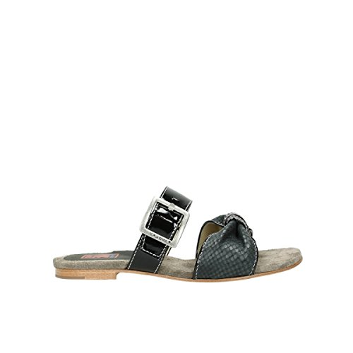 Anthracite Wolky Leather nbsp;palm Confort Print Snake Beach 04646 60210 qBPwAq